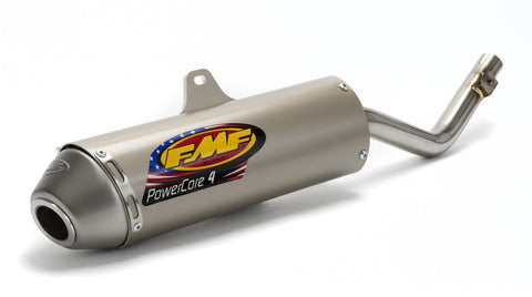 Motocross Exhaust Clearance FMF Factory Powercore 4  Silencer - Kawasaki KLX125 03-10 / Suzuki DRZ125 03-07