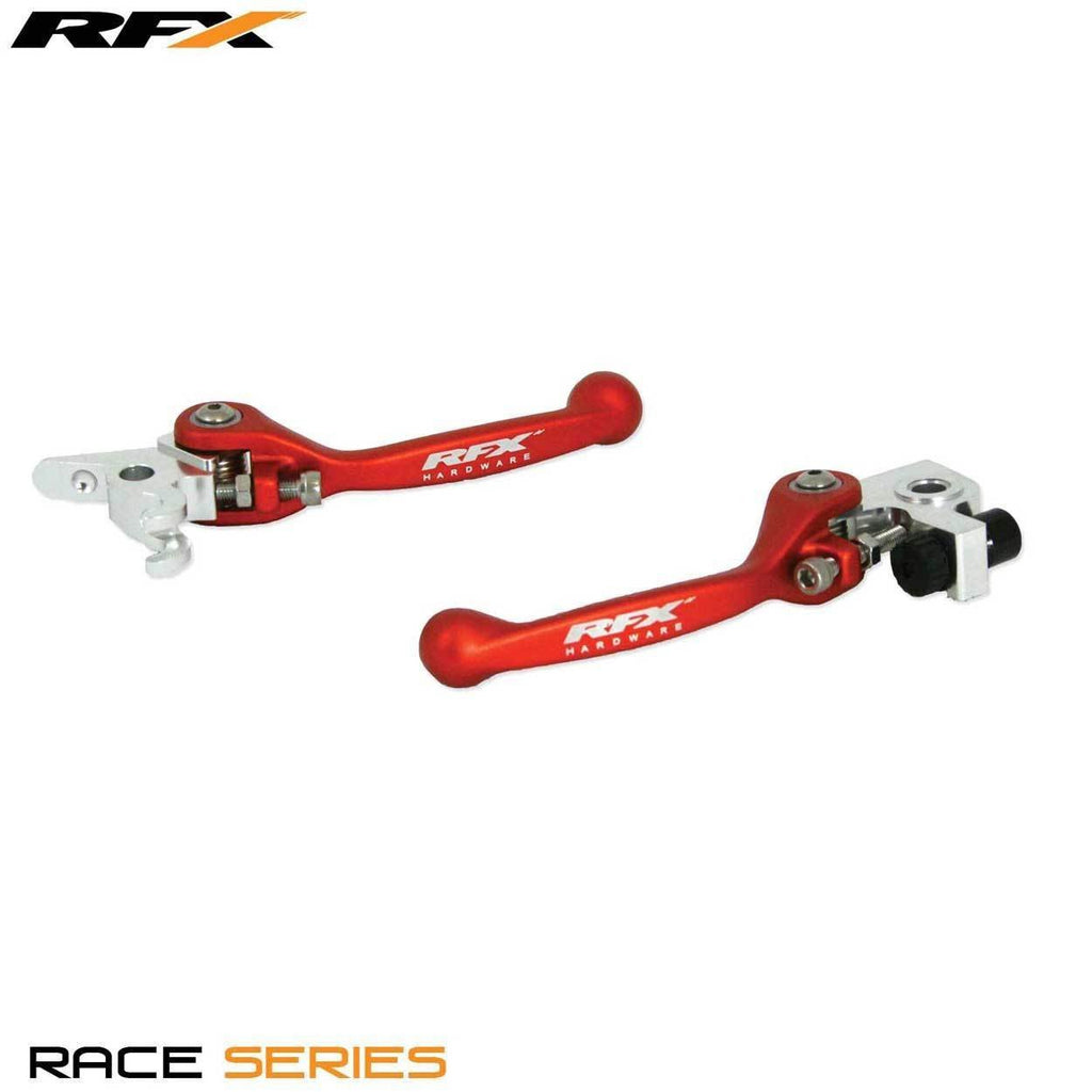 Motocross Flexi Lever Pairs RFX Race Forged Flexible Lever Set KTM Various Brembo Brake / Brembo Clutch 450S