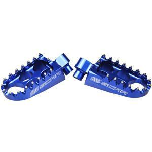 Motocross Foot Pegs All EC Models 97-12 (All) / Blue Scar Racing Standard Footpegs - Gas Gas