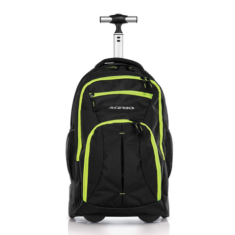 Motocross Gear Bags 2017 Acerbis Waggy Motocross MX Trolley/backpack 34 Litre - Black / Yellow