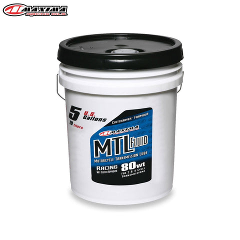 Motocross Gearbox Oil Maxima Gearoil MTL-R Racing (SAE 80w) 19 Litre