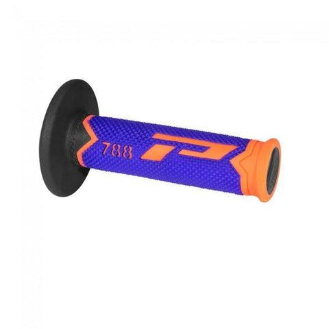 Motocross Grips & Accessories Pro Grip Handle Bar Grips 788 L.E Fluo Orange / Blue / Black