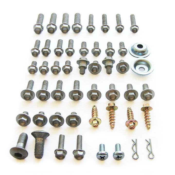 Motocross Hardware Bolt Packs Track Pack Bolt Kit - KTM Bolt Kit