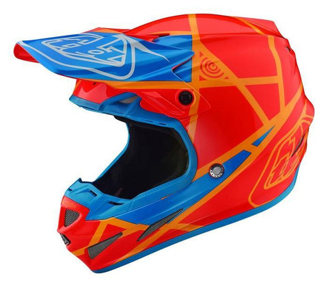 Motocross Helmets XS - 53-54cm 2018 Troy Lee Designs Se4 Composite Helmet 2018.1 Metric - Honey/Orange