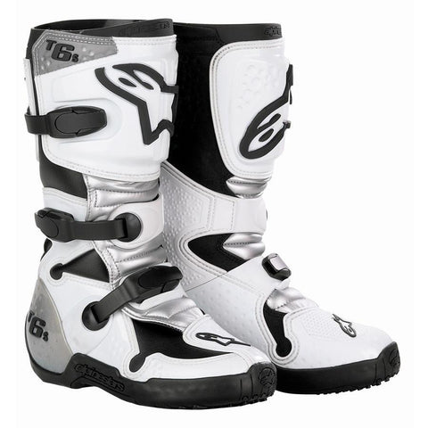 Motocross Kit,2011 Motocross Gear,2013 Motocross Gear,2014 Motocross Gear 7 (42) Alpinestars Tech 6s Kids Motocross Boots - White