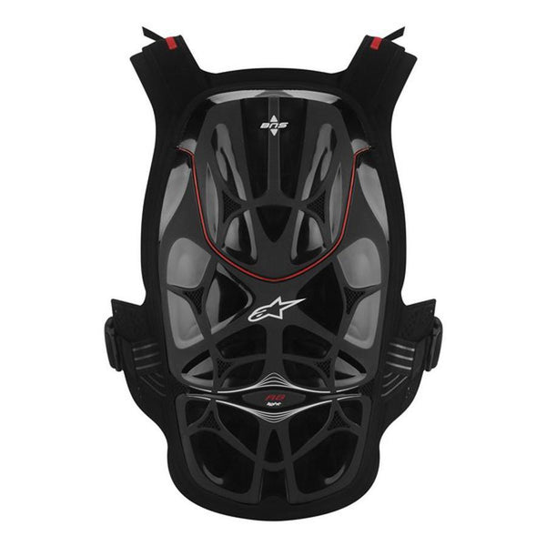 Motocross Kit,2014 Motocross Gear,2015 Motocross Gear,EBAY Alpinestars A8 Light Chest Protector For BNS - Blk/Wht/Red - Leatt Compatible