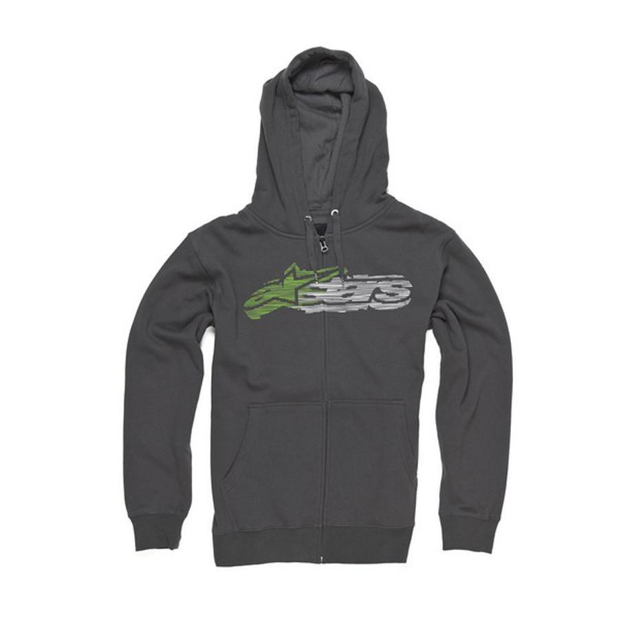 Motocross Kit,2014 Motocross Gear,MTB Clothing / Apparel,CRAZY CLEARANCE DEALS! S Alpinestars Inject Zip Hoodie - Graphite
