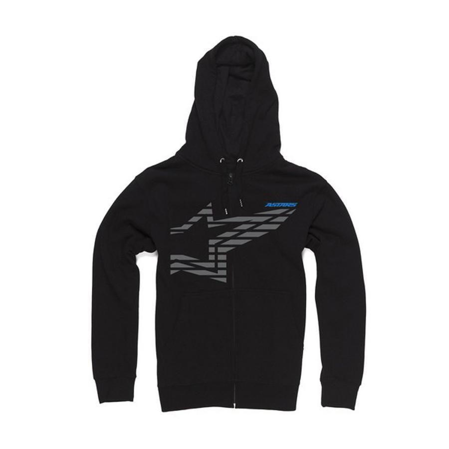 Motocross Kit,2014 Motocross Gear,MTB Clothing / Apparel,CRAZY CLEARANCE DEALS! S Alpinestars Plume Zip Hoodie - Blach