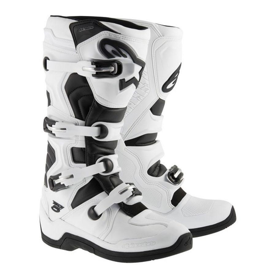 Motocross Kit,2015 Motocross Gear,2017 Motocross Gear 11 (47) Alpinestars NEW Tech 5 MX Motocross Boots - White Black