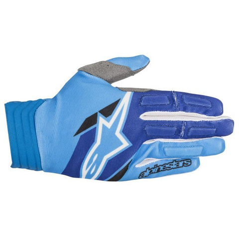 Motocross Kit 2018 Alpinestars Aviator MX Motocross Gloves - Aqua & Blue