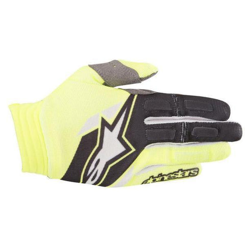 Motocross Kit 2018 Alpinestars Aviator MX Motocross Gloves - Yellow Fluo & Black