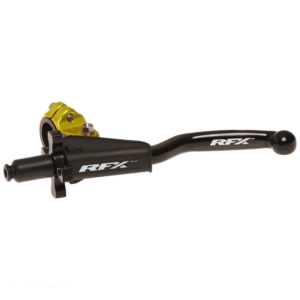 Motocross Lever Assemblies RFX Forged Pro Clutch Lever Assembly - Universal - Yellow