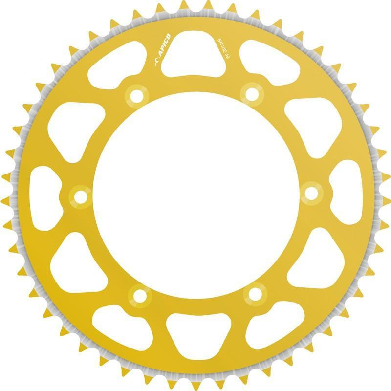 Motocross Rear Sprockets Talon Sprocket Rear Radialite Kawasaki Gold 50T KX60/80/85/100 >2013