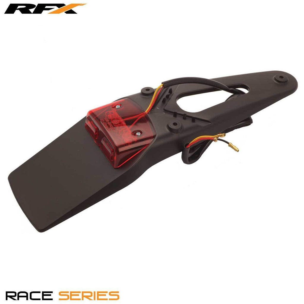 Motocross Rear Tail Lights RFX Race Rear LED Tail Light (Black) Universal 3-way Stop and Tail