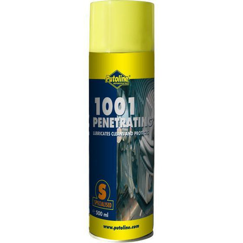 Motocross Spray Lubricant Putoline 1001 Penetrating - 500 ml Aerosol