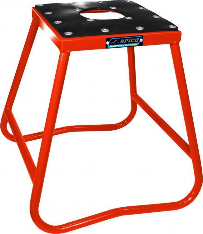 Motocross Stands Apico Factory Racing Motocross Steel Box Stand - Red