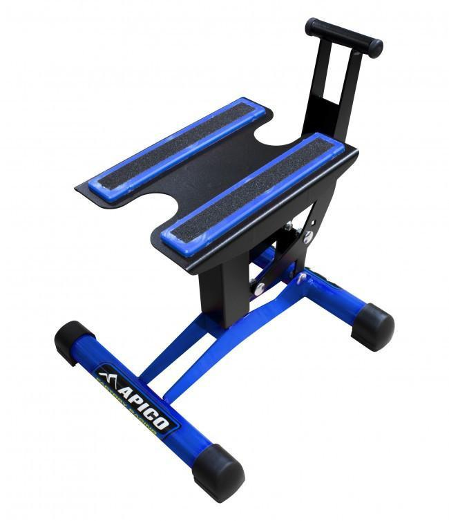 Motocross Stands Apico Factory Racing Pro Motocross Bike Lift Stand - Blue