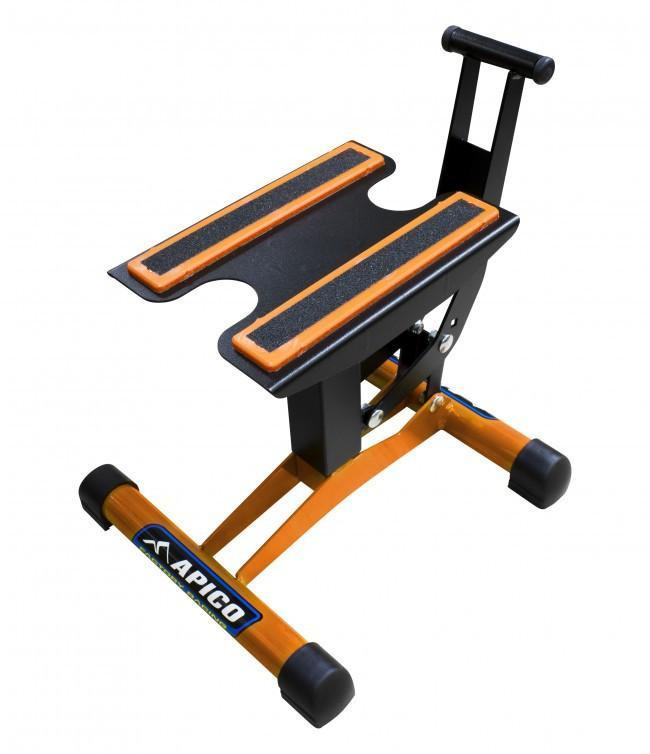 Motocross Stands Apico Factory Racing Pro Motocross Bike Lift Stand - Orange
