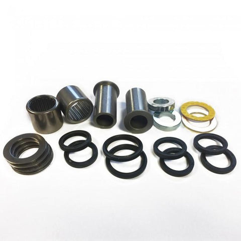 Motocross Swing Arm Bearing Kits All Balls Swing Arm Bearing and Seal Kit Kawasaki KX450F 16-17