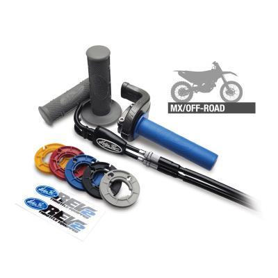 Motocross Throttle Kit Motion Pro Rev2 Throttle Kit KTM/Husqvarna 250-450 16-18 - Silver