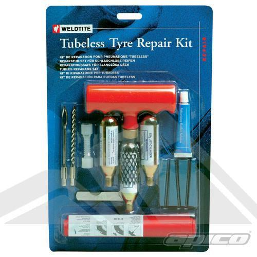 Motorcycle Puncture Repair Kit Weldtite Tubeless Motorcycle Puncture Repair Kit