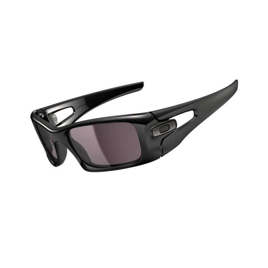 Oakley Sunglasses Oakley MX Sunglasses - Crankcase Polished Black / Warm Grey Lens