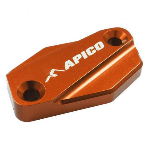 Parts / Accessories Apico Front Brake Master Cylinder Cover Braktec - Orange