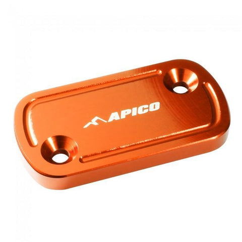 Parts / Accessories Apico Front Brake Master Cylinder Cover Large - Orange