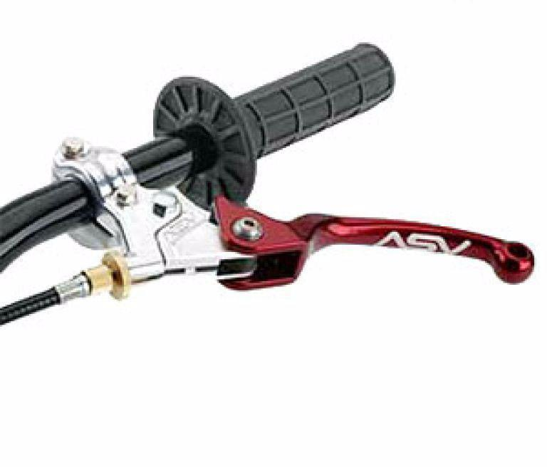 Parts / Accessories Aprillia RXV 450 (05-14) CMF30 ASV F3 Other Unbreakable Clutch Lever - Red