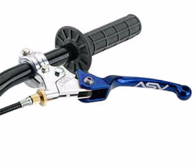Parts / Accessories KX 65 (97-99) CMF30 ASV F3 Kawasaki Unbreakable Clutch Lever - Blue