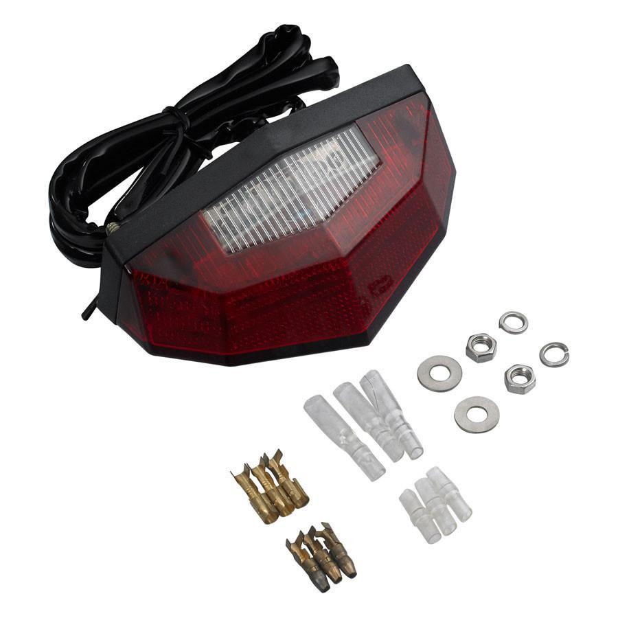 Parts / Accessories,Road Motorcycle Gear DRC Edge 2 Tail Light
