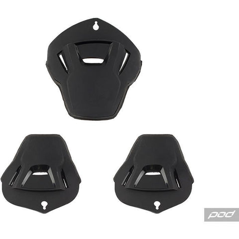 POD Knee Brace Spares Pod KX Impact Panel Kit - Black