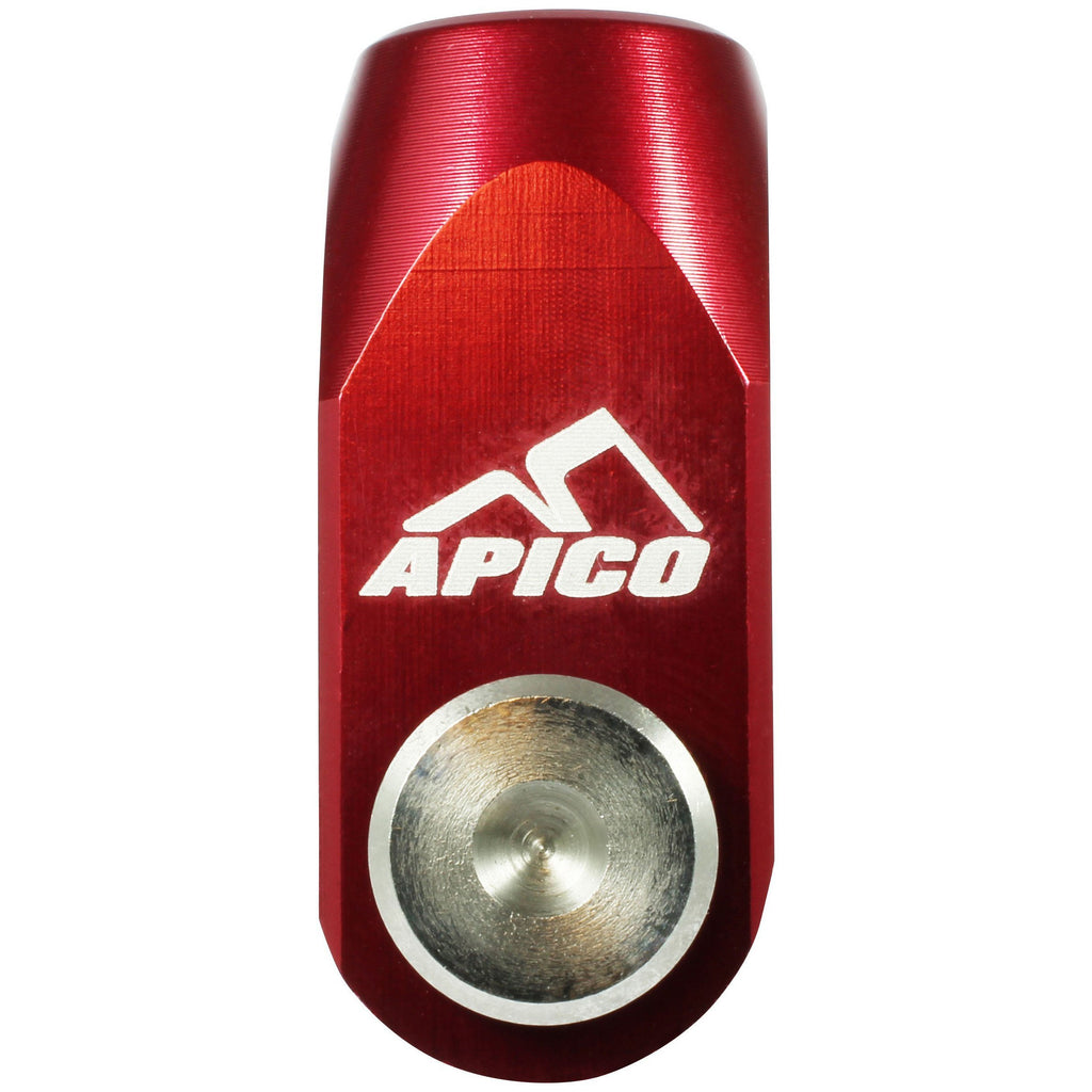 Rear Brake Clevis Apico Rear Brake Clevis Kaw/Suz Red