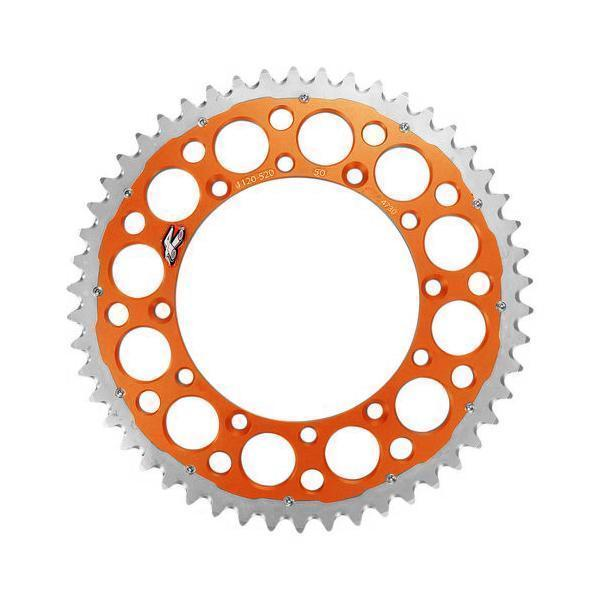 Renthal TwinRing Rear Sprocket - KTM (Orange)