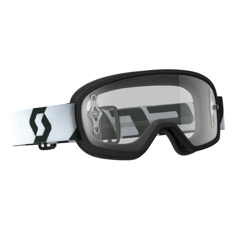 scott motocross goggles Scott Buzz Pro YOUTH Motocross Goggles - Black - Clear Lens