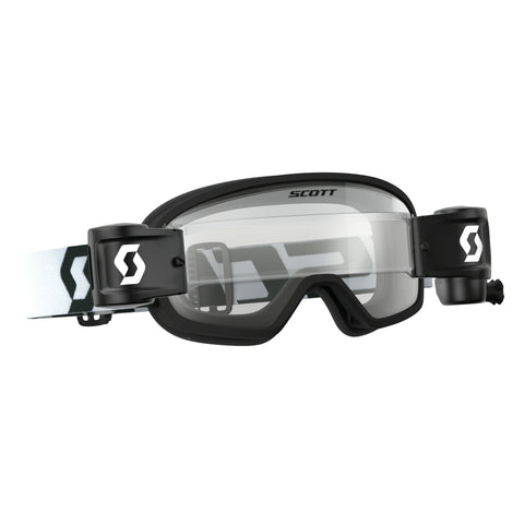 scott motocross goggles Scott Buzz YOUTH Motocross Goggles - Works Roll-Off System - Black