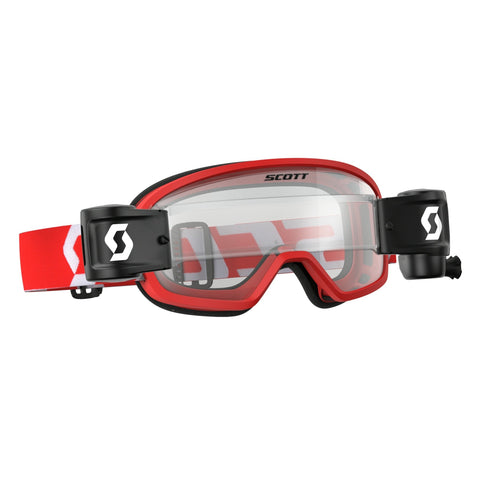 scott motocross goggles Scott Buzz YOUTH Motocross Goggles - Works Roll-Off System - Red