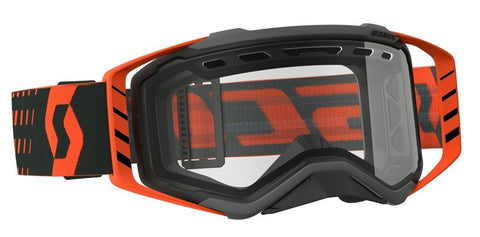 scott motocross goggles Scott Prospect Enduro Goggles - Vented Lens - Black Orange