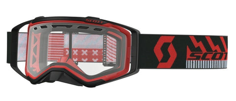 scott motocross goggles Scott Prospect Enduro Goggles - Vented Lens - Black Red