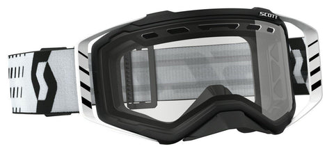 scott motocross goggles Scott Prospect Enduro Goggles - Vented Lens - Black White
