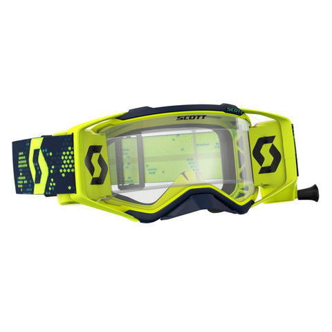 scott motocross goggles Scott Prospect Motocross Goggles - Works Roll-Off System - Yellow