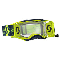 Scott Prospect Motocross Goggles - Works Roll-Off System - Yellow