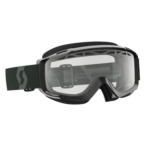 scott motocross goggles Scott Split OTG  Enduro Goggles - Black White - Clear Lens
