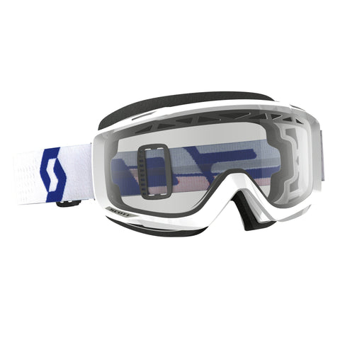 scott motocross goggles Scott Split OTG  Enduro Goggles - White - Clear Lens