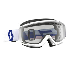 Scott Split OTG  Enduro Goggles - White - Clear Lens