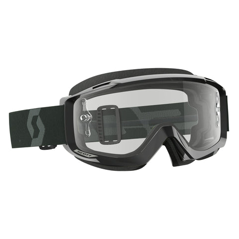 scott motocross goggles Scott Split OTG Goggles - Black - Clear Lens