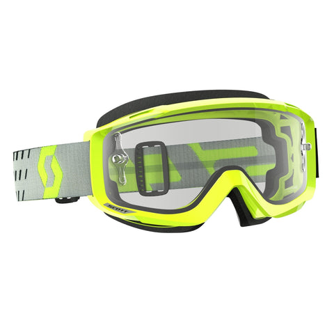 scott motocross goggles Scott Split OTG Goggles - Flou-Yellow - Clear Lens