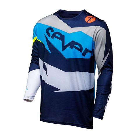 Seven Motocross Jerseys 2018 Seven MX 18.1 Annex Ignite YOUTH Motocross Jersey - Coral/Navy