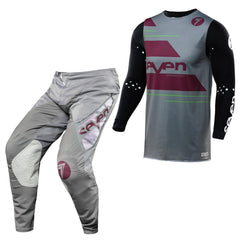 2018 Seven MX 18.3 Lasercut Zero Odyssey Motocross Kit Combo - Grey / Grey / Black