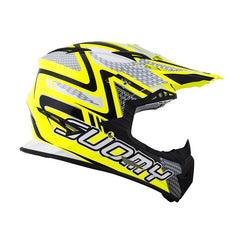 2018 Suomy Rumble Motocross Helmet - Snake Yellow